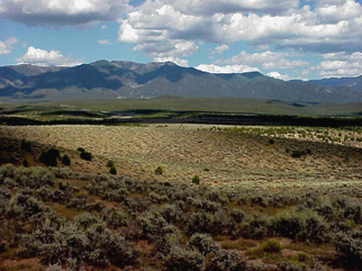 Taos County land for sale on Arroyo Hondo mesa