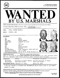 Gordon Kahl U.S. Marshalls Most Wanted Fugitive
