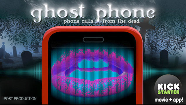 Ghost Phone movie (formerly Callers) starring Melissa Ordway and Nelson Franklin, upcoming Kickstarter Campaign